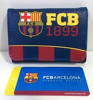 CARTERA FUTBOL CLUB FC BARCELONA BARÇA Portafoglio Wallet Portefeuille Бумажник