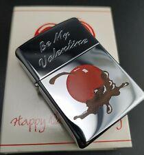 Zippo BE MY VALENTINE (Cherry), Happy Valentinstag, Rarität von 1996