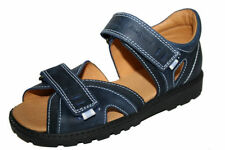 Scarpe blu per bambini dai 2 ai 16 anni pelle , Numero 33