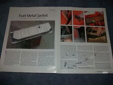 1953-62 Corvette Gas Tank Replacement How-To Tech Info Article