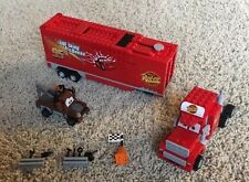Lego Cars Mack's Team Truck (8486) And Classic Tow Mater (8201) Both Incomplete