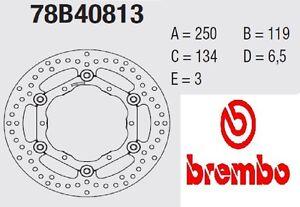 Paar Bremsscheiben Brembo Serie Gold Suzuki 250 RM 99>08