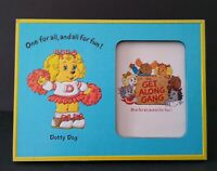 The Get Along Gang Picture Photo Frame Vintage 1975 Dotty Dog American Greetings