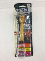 Pez Star Wars C3PO 2012 NWT Orange Lemon Raspberry Made USA Damaged Package New