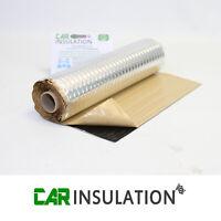 2m x 0.5m Car Audio Sound Deadening Mat Roll PMXR 2mm Panel Dampening Alu Butyl