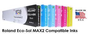 Roland Eco-Sol Max 2 220ml Ink Cyan