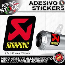 Adesivo Adesivi Sticker Pegatina AKRAPOVIC APRILIA SUZUKI KTM EXAUST 6cm  200°