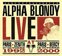 ALPHA BLONDY - LIVE AT PARIS 3 CD NEUF