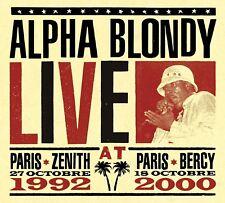ALPHA BLONDY - LIVE AT PARIS 3 CD NEW