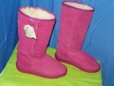 EMU WOMEN'S SHEEPSKIN PINK SUEDE SIZE 7 NEW WITHOUT TAGS- RARE, RARE, RARE!!