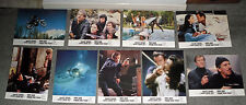 FOR YOUR EYES ONLY original 1981 RARE lobby card set JAMES BOND/ROGER MOORE