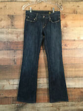 Women's Chip and Pepper Jeans Size 27 Stella Bootcut Dark Wash Made in LA