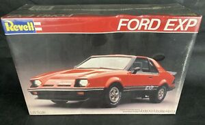 Revell Ford EXP Turbo 1/25 Scale Plastic Model Kit 7318 © 1981 Sealed