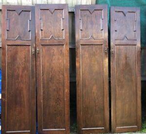 Cupboard doors With Unique Handles (no Keys) Set Of 4