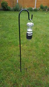 Shepherds Crook hanger for Lantern Bird feeders Camping Pitch Marking Caravan