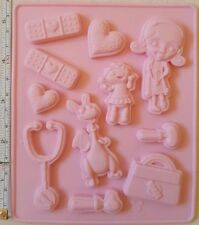 Silicone Soap Mould Cake Chocolate Cookies Baking Tool Candle Mold Ice Cube Tray