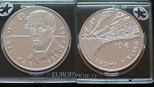 FINLAND / 2006 - 10 EURO / J. V. SNELLMAN / SILVER COIN