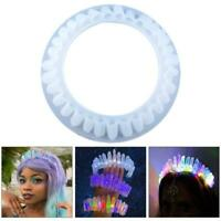 Crystal Crown Tiara Epoxy Resin Mold Decorations Crafts Casting Silicone Mould
