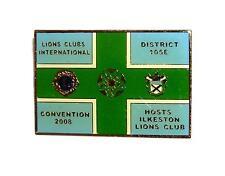 PIN/HATPIN Vintage Ilkeston District 105E Convention 2008 LIONS CLUB MEMORABILIA