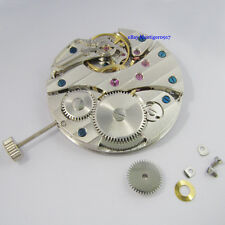 Parnis 17 Jewels Seagull Swan Neck 6497 Hand Winding Men Vintage Watch Movement