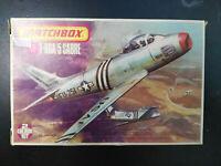 F - 86, A / 5, Sabre, Düsenjäger, Matchbox, Scale:1/72, Kit: PK-32, Rarität!