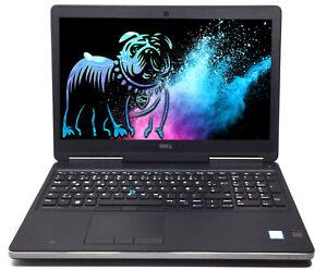 """Dell Precision 7520 15,6"""" Notebook i7-7920HQ 32GB 1TB 512GB SSD Quadro M1200"""
