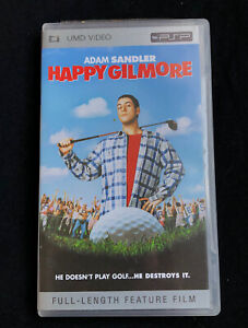 Happy Gilmore (UMD Movie Sony PSP) Disc & Case - Tested Working
