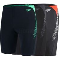 Speedo Boom Splice Adult Mens Swimming Jammer Shorts Swim Trunks Size 26-40 New