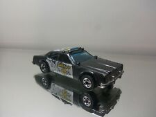 1982 Hot Wheels Sheriff Patrol - Nice Loose 1/64 Scale