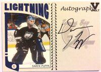 2004-05 ITG Franchises US East Autographs Daren Puppa Auto Vault Version #A-DPU