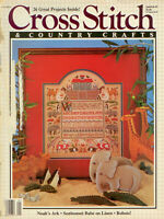 Cross Stitch & Country Crafts Magazine - Jan/Feb 1987 - Many Lovely Designs