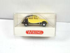 WIKING 0809 10 25 Citroen 2 CV Charleston schwarz gelb Modellauto 1:87 (K11) #42