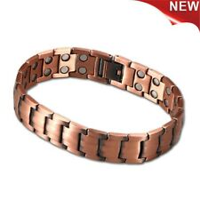 New Copper Bracelet Magnetic Therapy Arthritis Pain Relief Pure Copper Bangle