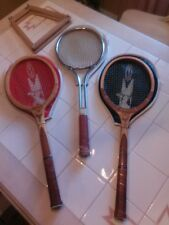 THREE TENNIS RACKETS WITH COVERS , TWO ARE REGENT FLIGHT