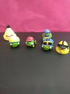 Lot of 6 - 2013 Hasbro Angry Birds Game figures