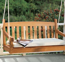 A Grade Teak Wood 4½ Feet Devon Swing Chair Patio Outdoor Pool Garden Furniture