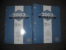 2003 Pontiac VIBE VIBE GT Service Shop Repair Workshop Manual Set OEM FACTORY