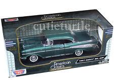 Motormax American Classics 1957 Chevrolet Bel Air Hard Top 1:18 Green 73180