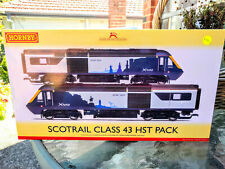 Hornby R3698 Scotrail Twin Cities Class 43 HST train pack New