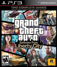 GRAND THEFT AUTO EPISODES LIBERTY CITY (PS3 PLAYSTATION 3 ) DISC IS MINT