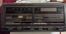 Vintage Soundesign Radio/Clock/Cassette Player Model 3844MGY Tested & Works!
