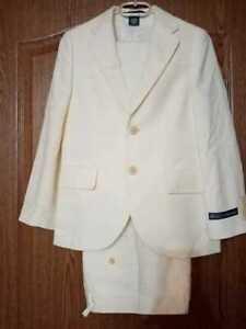 Polo Ralph Lauren Boys льняной костюм пиджак и брюки  10-12, Италия,