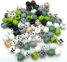Lego New Minifigure Heads Vampire Witch Ghost Halloween More Pieces
