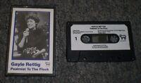 Psalmist To The Flock Gayle Rettig~RARE Private Label Christian Cassette
