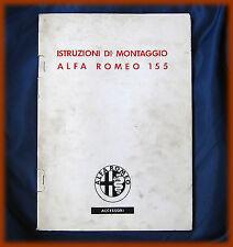ALFA ROMEO 155 - MANUALE MONTAGGIO CLIMATIZZATORE
