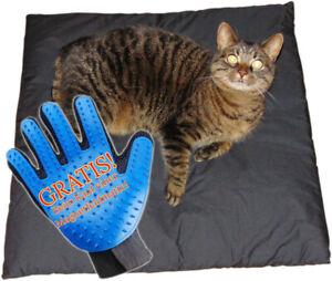 biomagnet24®,  Magnetfeldmatte, Magnetfelddecke 60cm x 60cm für Katzen u. Hunde