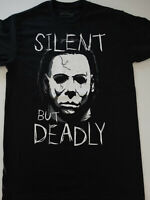 Michael Myers Halloween Silent But Deadly Horror Movie T-Shirt
