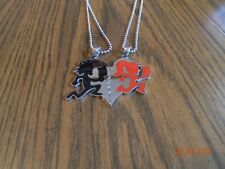 "ICP Juggalo/ lette  ""im hers /shes mine"" BLACK/RED pendant with 30"" ball chains"