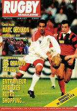 RUGBY No 925 Jul 1992 OFFICIAL MAGAZINE OF THE FFR - FRANCE
