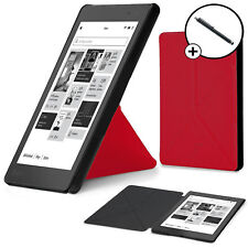 Forefront Cases® Red Origami Smart Case Cover for Kobo Aura Edition 2 Stylus